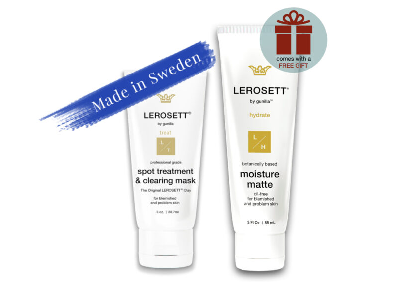 lerosett acne kit